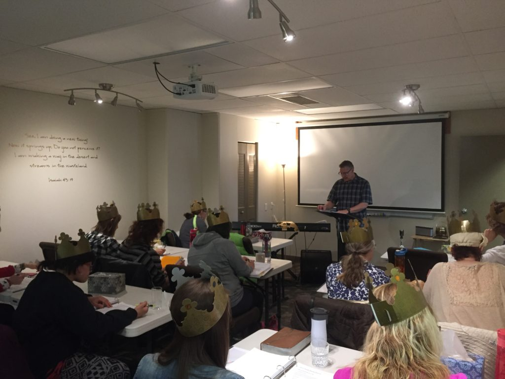 Teaching the Kingdom of God topic in Course A